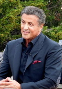 Sylvester Stallone am Set von Creed - Rocky's Legacy